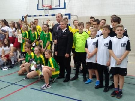 Powiatowy Turniej w piłce nożnej dla Młodzieżowych Drużyn Pożarniczych