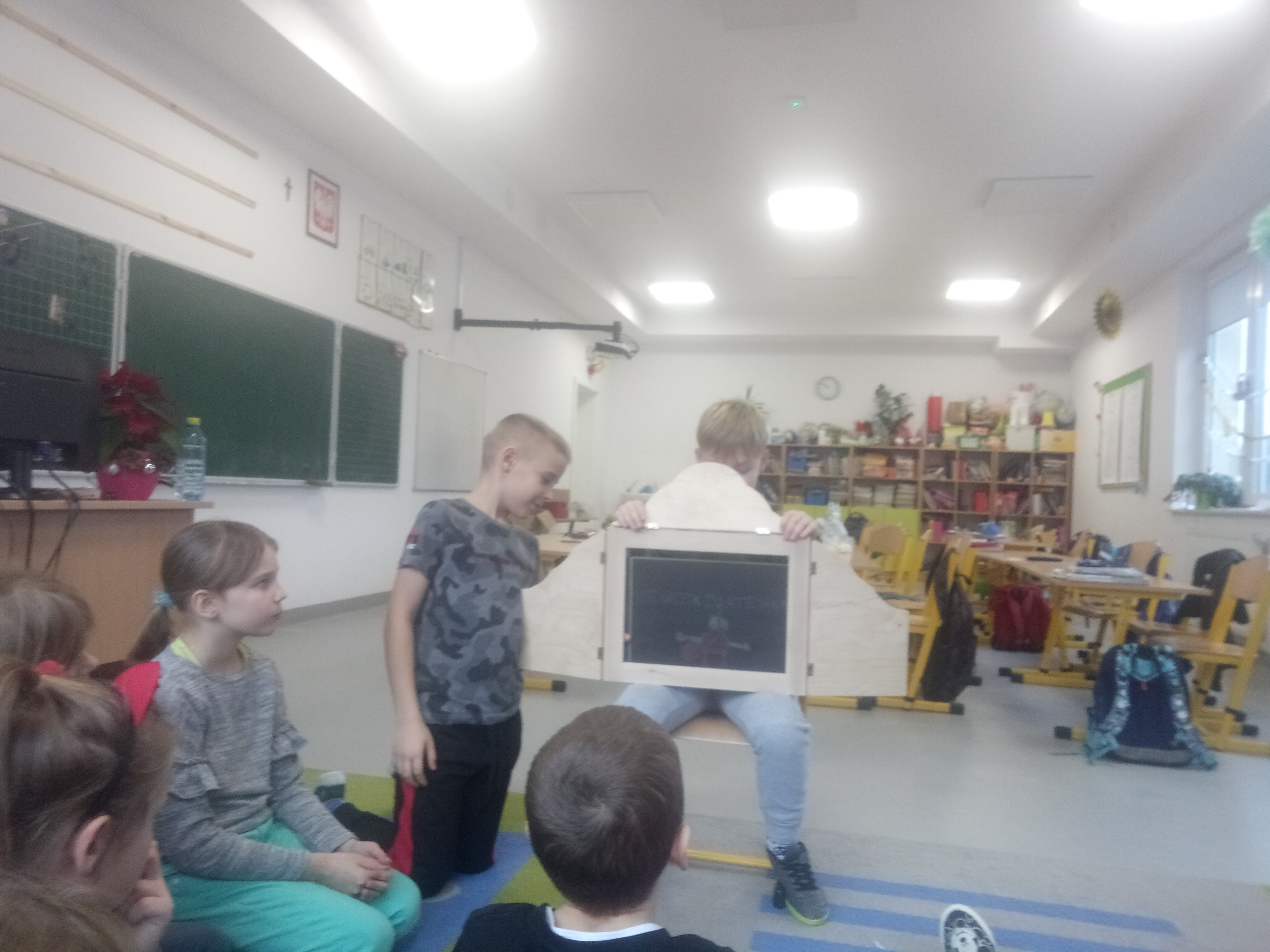 Teatrzyk Kamishibai uczniów klasy 3c