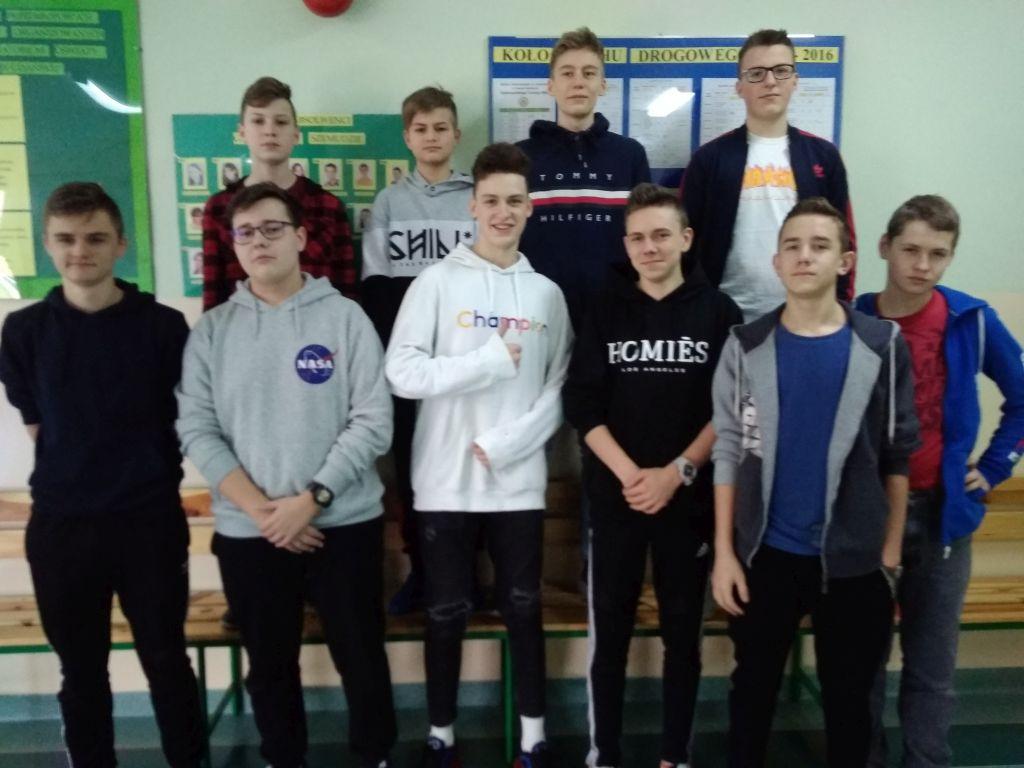 Gminny Turniej w Piłce Koszykowej Chłopców