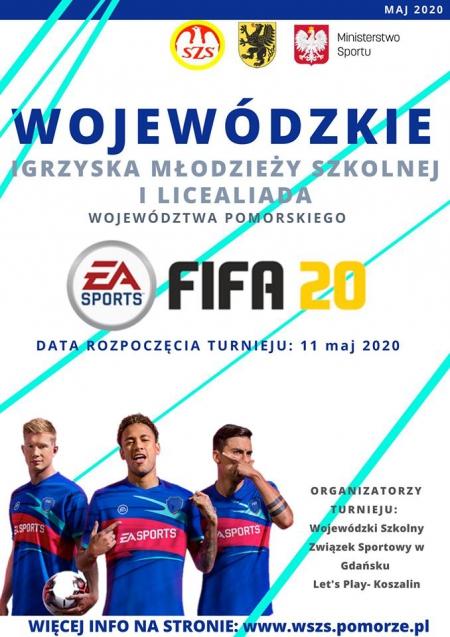 Turniej Online w grę FIFA 2020