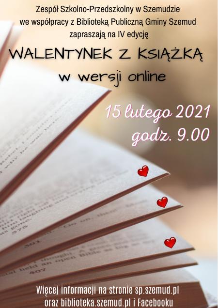 Zbliżają się Walentynki z książką