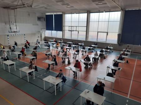 Drugi dzień egzaminów próbnych