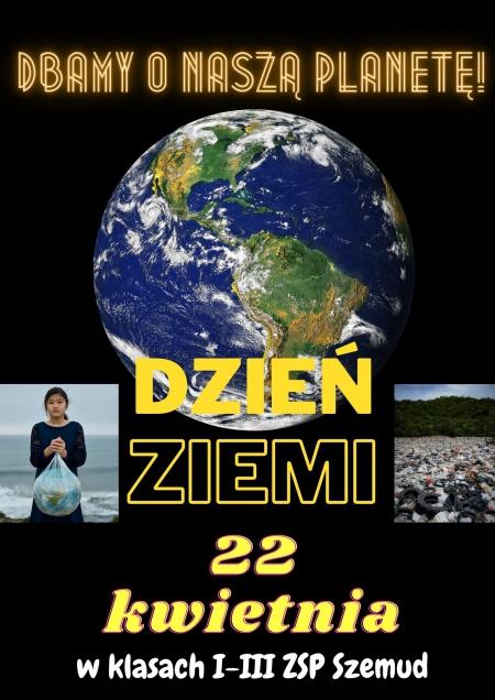 Dzień Ziemi w klasach I-III