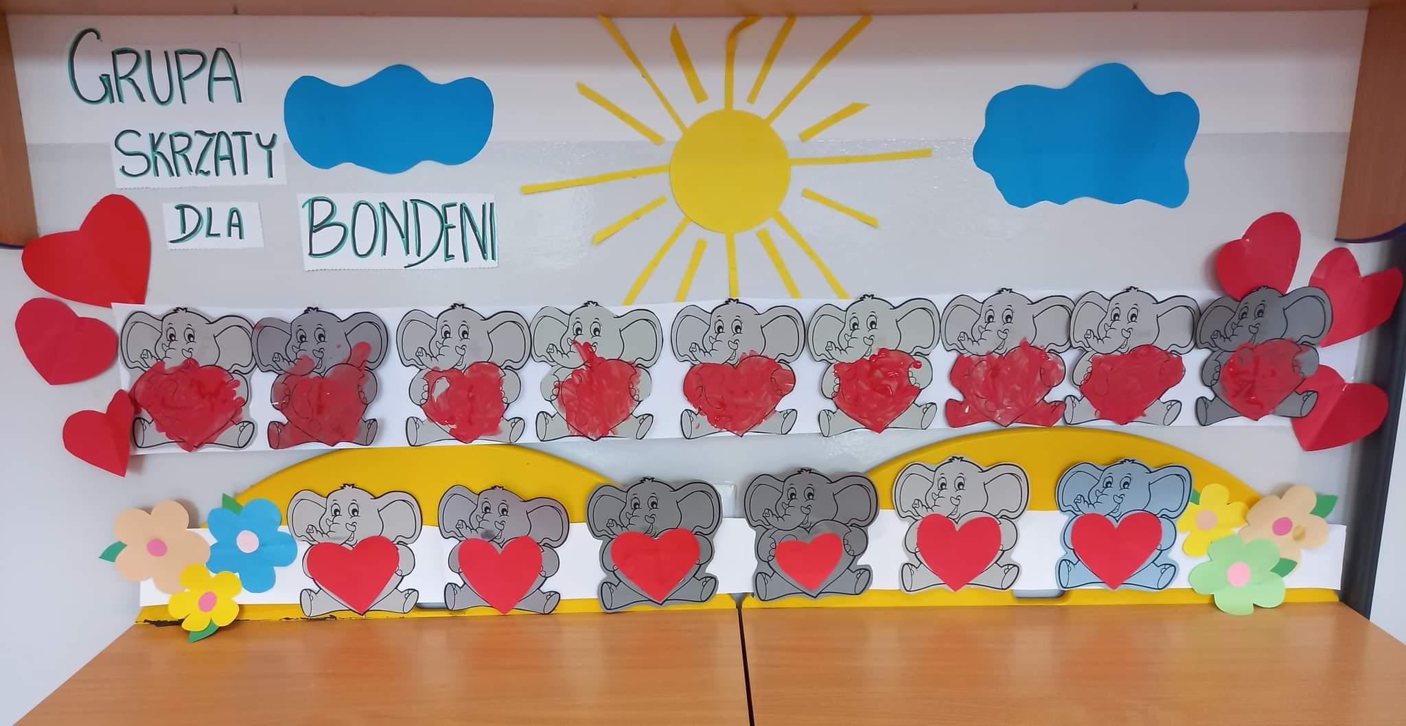 Podsumowanie I części akcji Przedszkolaki adoptują Słonia Bondeni