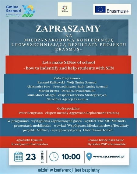 Międzynarodowa Konferencja Erasmus+ Online